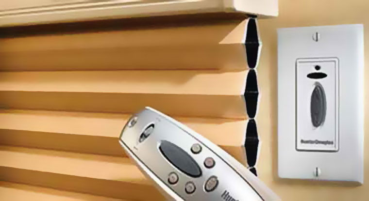 remote control blinds and electric